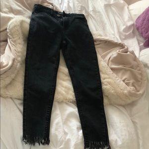 Never Worn Black Boohoo Jeans